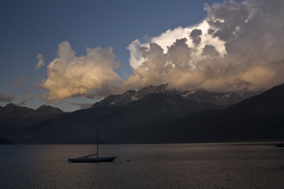 Abendstimmung am Lago di Sils