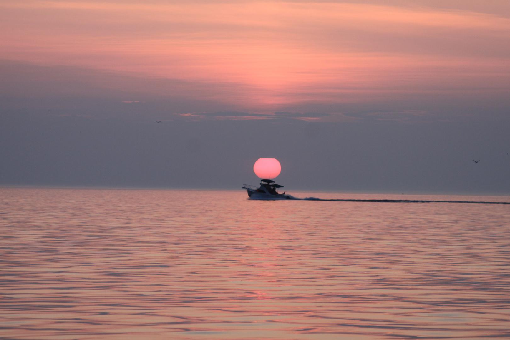 Abendstimmung am Lake Ontario