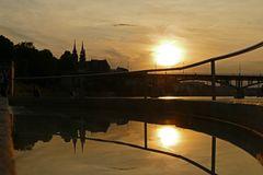 Abendstimmung am Rhein 2