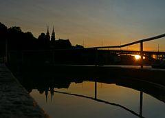 Abendstimmung am Rhein 3
