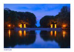 *Abendstimmung am Schloss Nordkirchen*