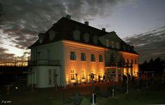 Abendstimmung am Schloß Wackerbarth