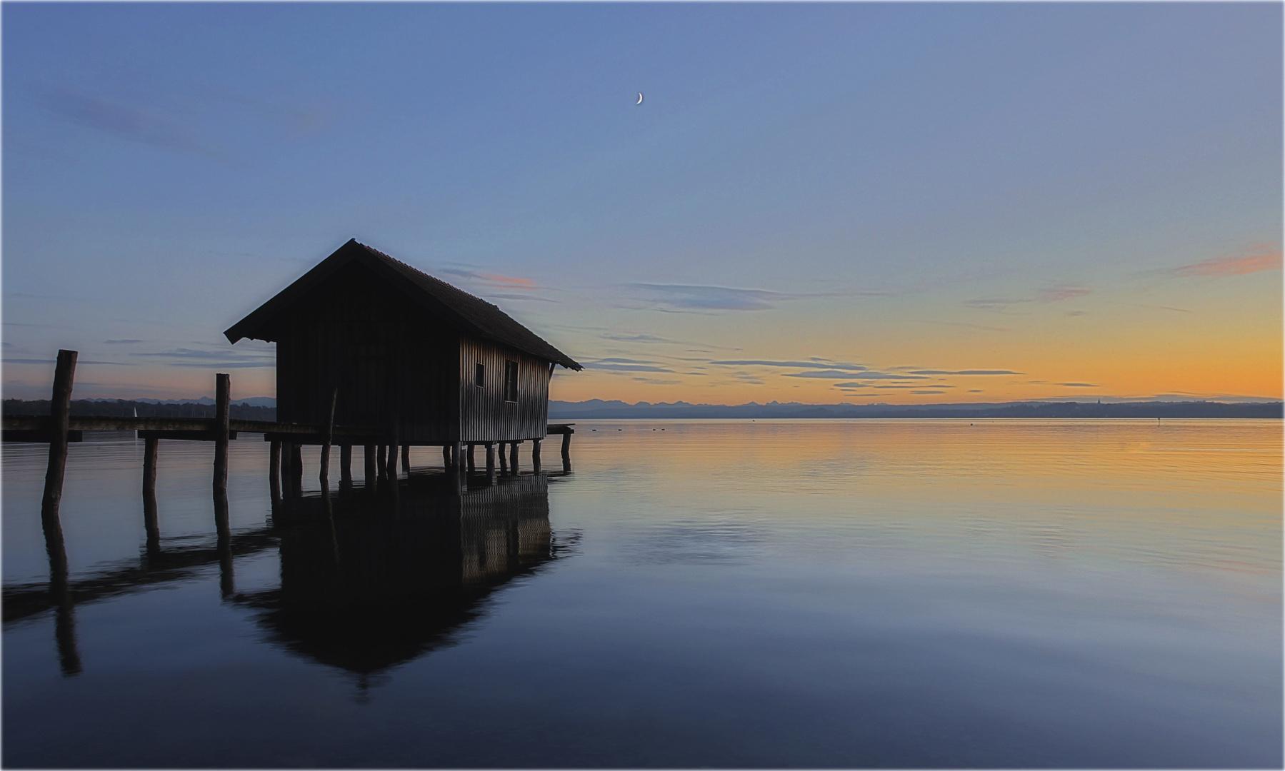 """""""Abendstimmung am See"""""""