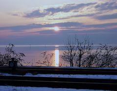 ... Abendstimmung am See