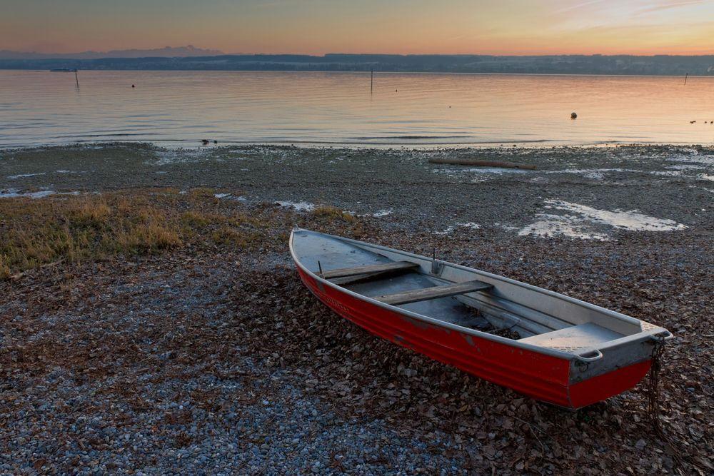 Abendstimmung am See