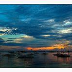 Abendstimmung am Strand - Schönes von den Philippinen 2
