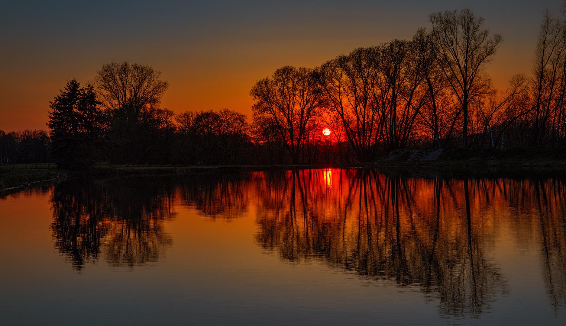 Abendstimmung am Teich 026