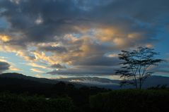 Abendstimmung am Vulkan Turrialba