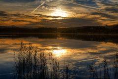 Abendstimmung am Waginger See