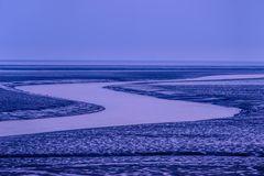 Abendstimmung am Wattenmeer 1, Nordfriesland