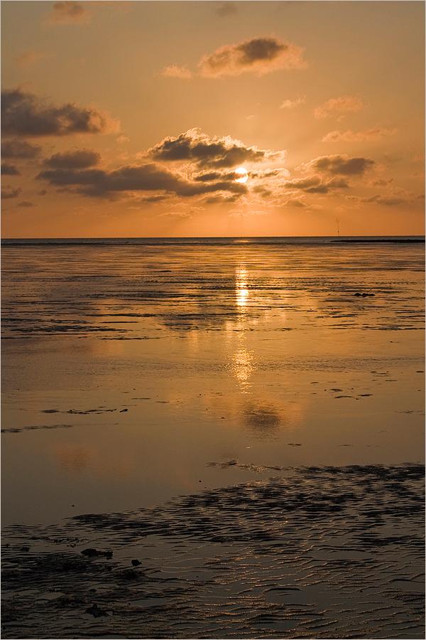Abendstimmung am Wattenmeer