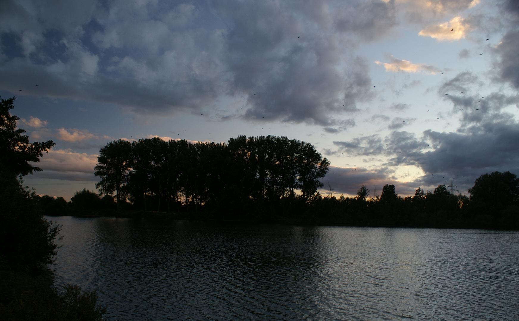 Abendstimmung am Wilkenburgersee