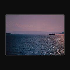 Abendstimmung an den Dardanellen - Evening at the Dardanelles