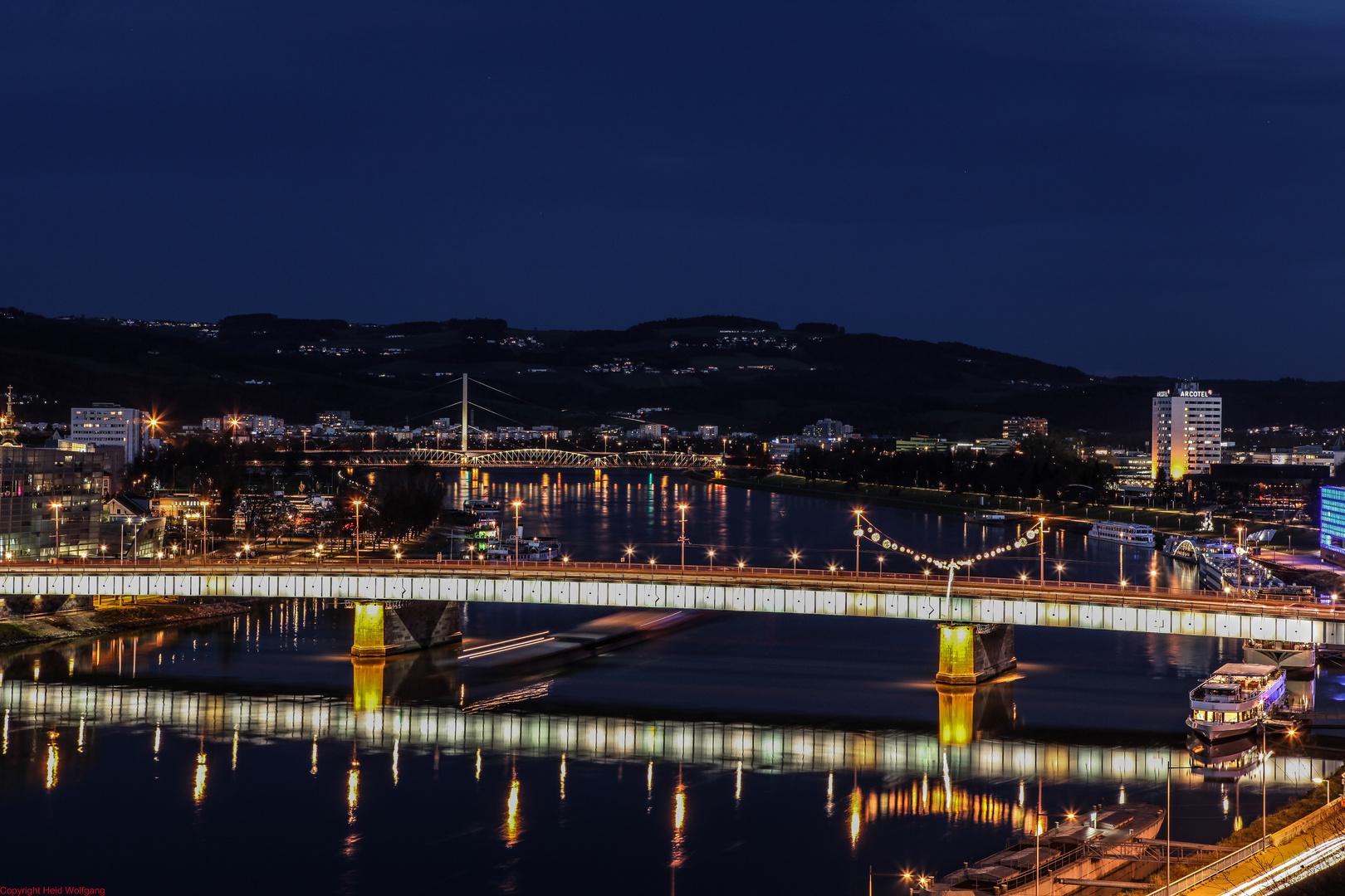 Abendstimmung an der Linzer Donau 3