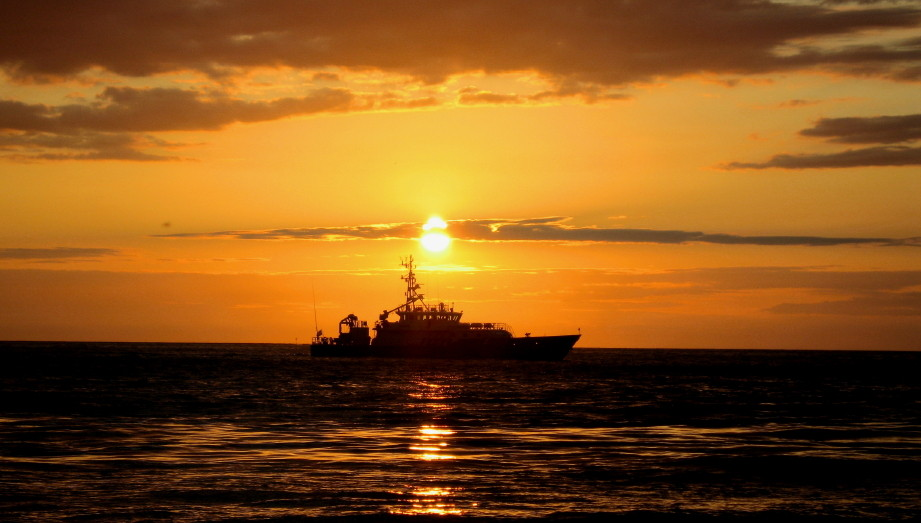 Abendstimmung an der Nordsee