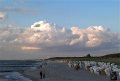 Abendstimmung an der Ostsee....