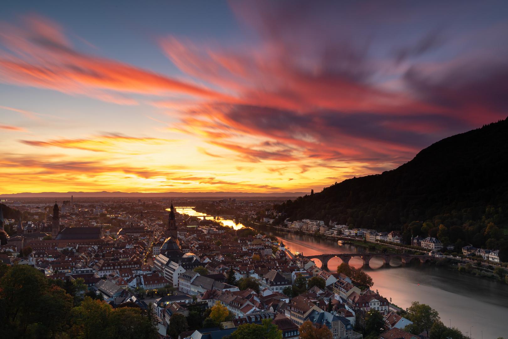 Abendstimmung Heidelberg