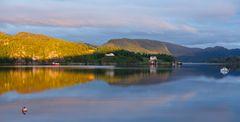 Abendstimmung im Fjord1