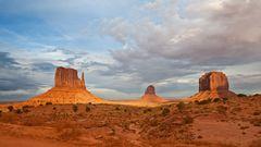 Abendstimmung im Monument Valley