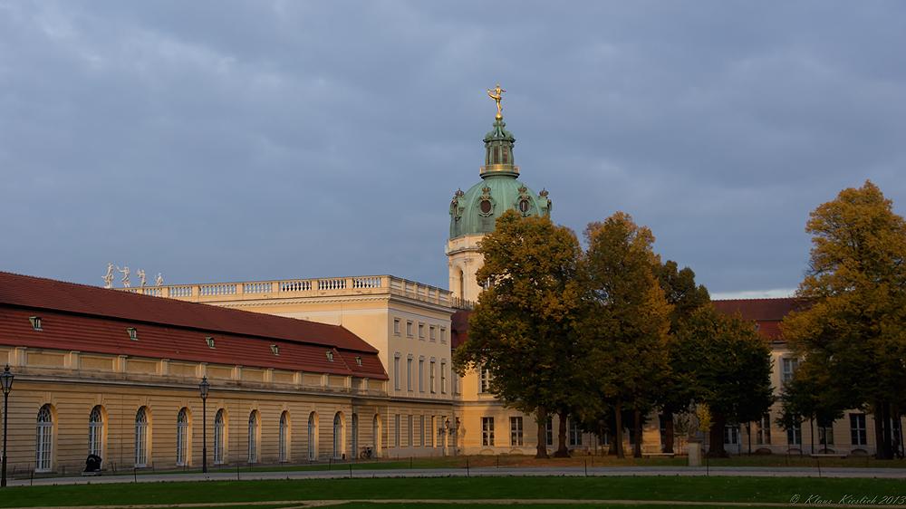 Abendstimmung Im Schlossgarten Charlottenburg