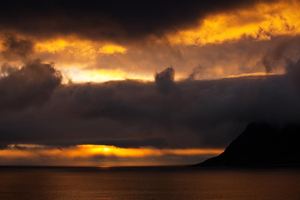 Abendstimmung im Stor-Fjord