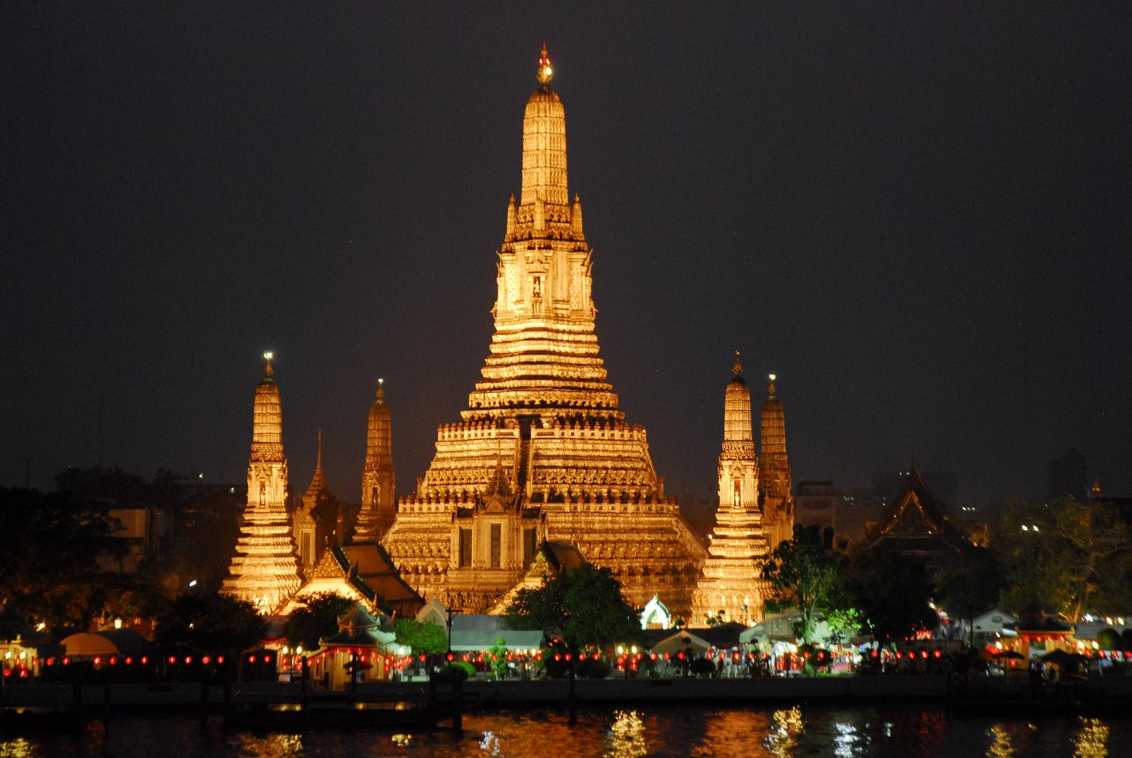 Abendstimmung in Bangkok