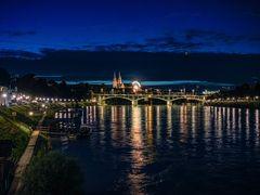 Abendstimmung in Basel