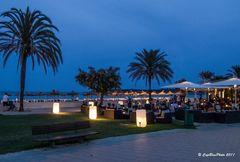 Abendstimmung in Cala Major Cafe de Sol