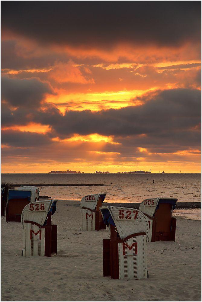 Abendstimmung in Cuxhaven...