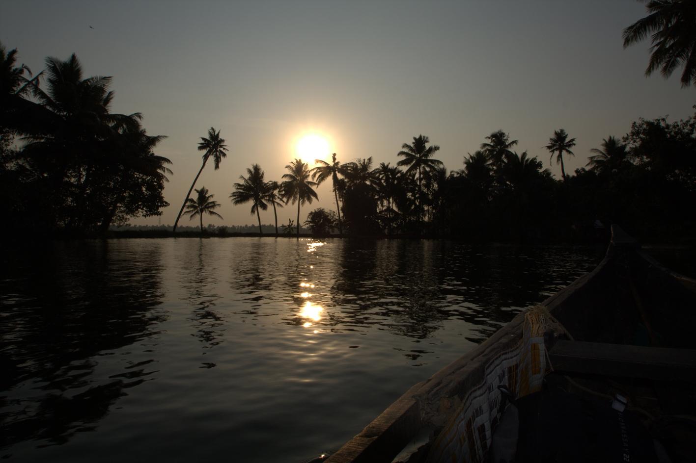 Abendstimmung in den Backwaters