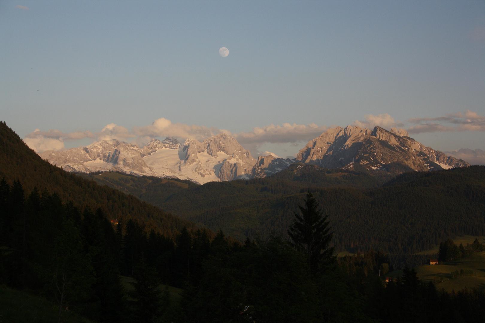 Abendstimmung in den Bergen