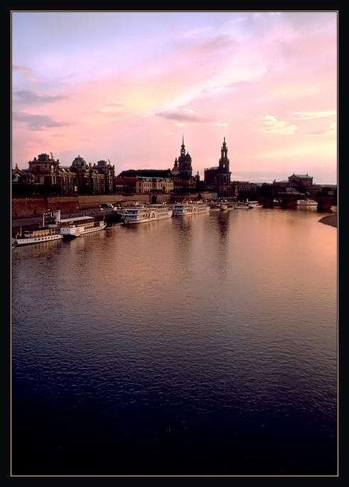 Abendstimmung in Dresden