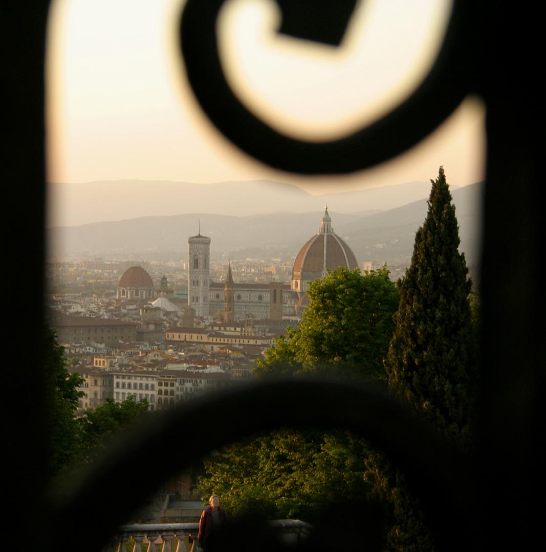 Abendstimmung in Florenz - anderer Schnitt