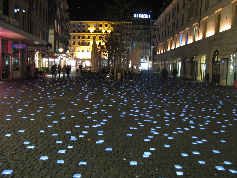 Abendstimmung in Genf