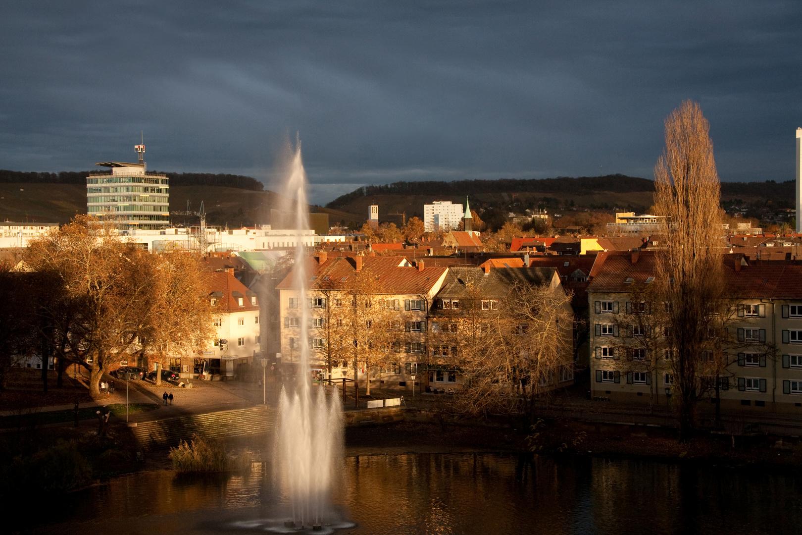 Abendstimmung in Heilbronn