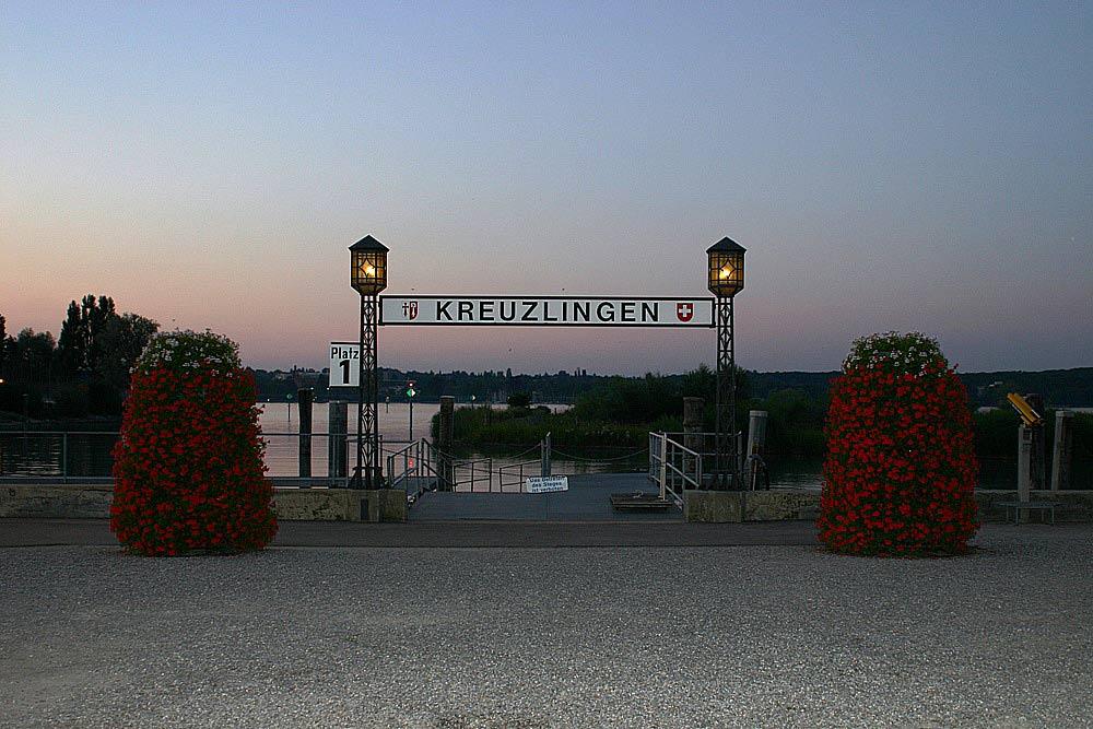 Abendstimmung in Kreuzlingen am Bodensee