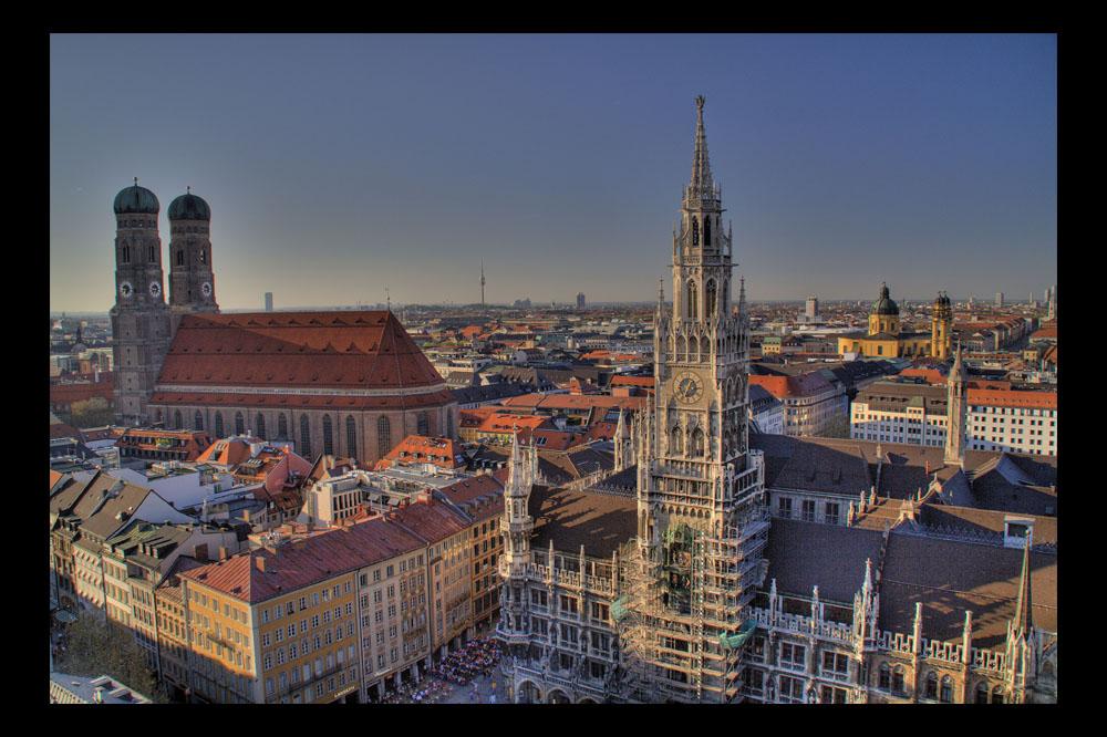 Abendstimmung in München
