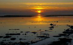 Abendstimmung in Norddeich am Wattenmeer