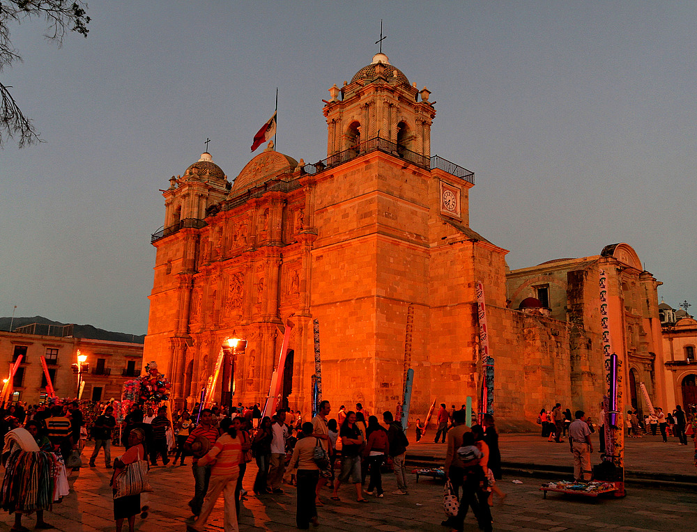 Abendstimmung in Oaxaca - Mexiko