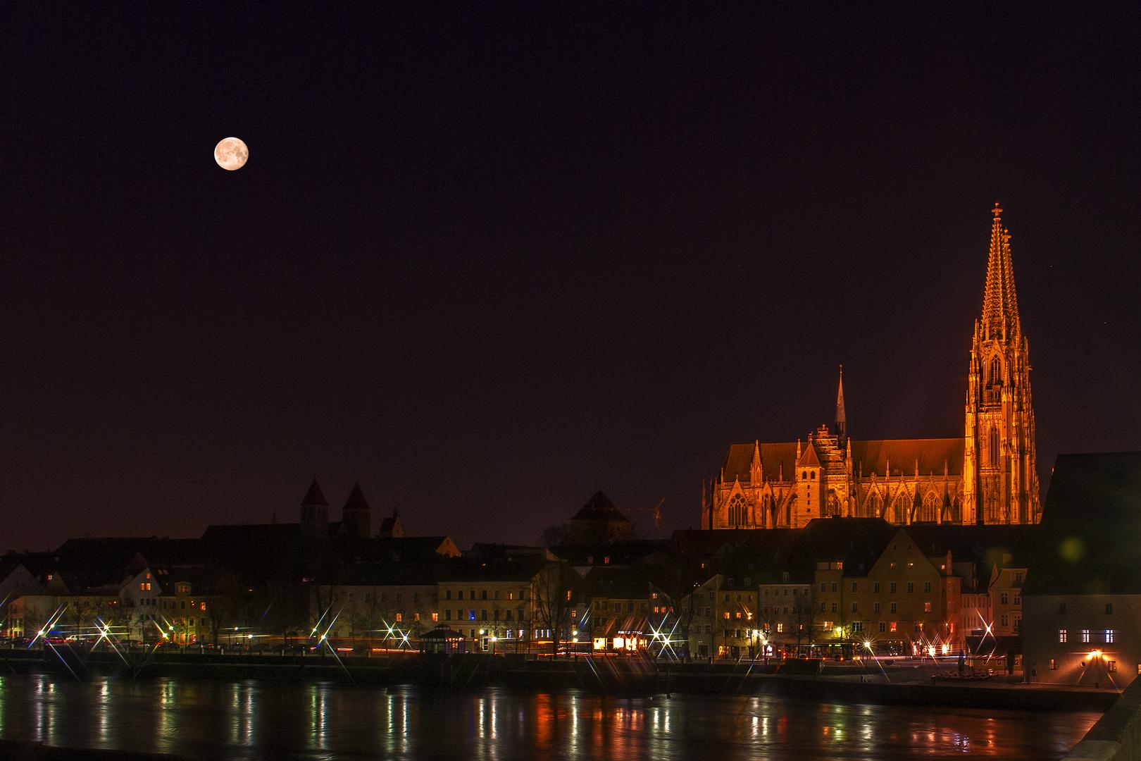 Abendstimmung in Regensburg