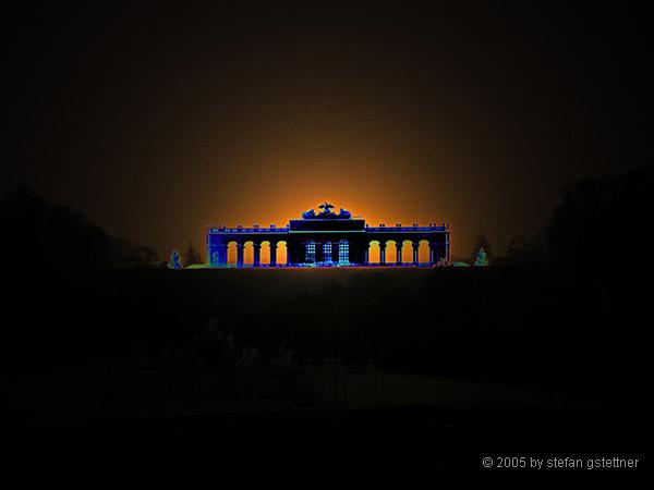 ...Abendstimmung in Schönbrunn Teil II