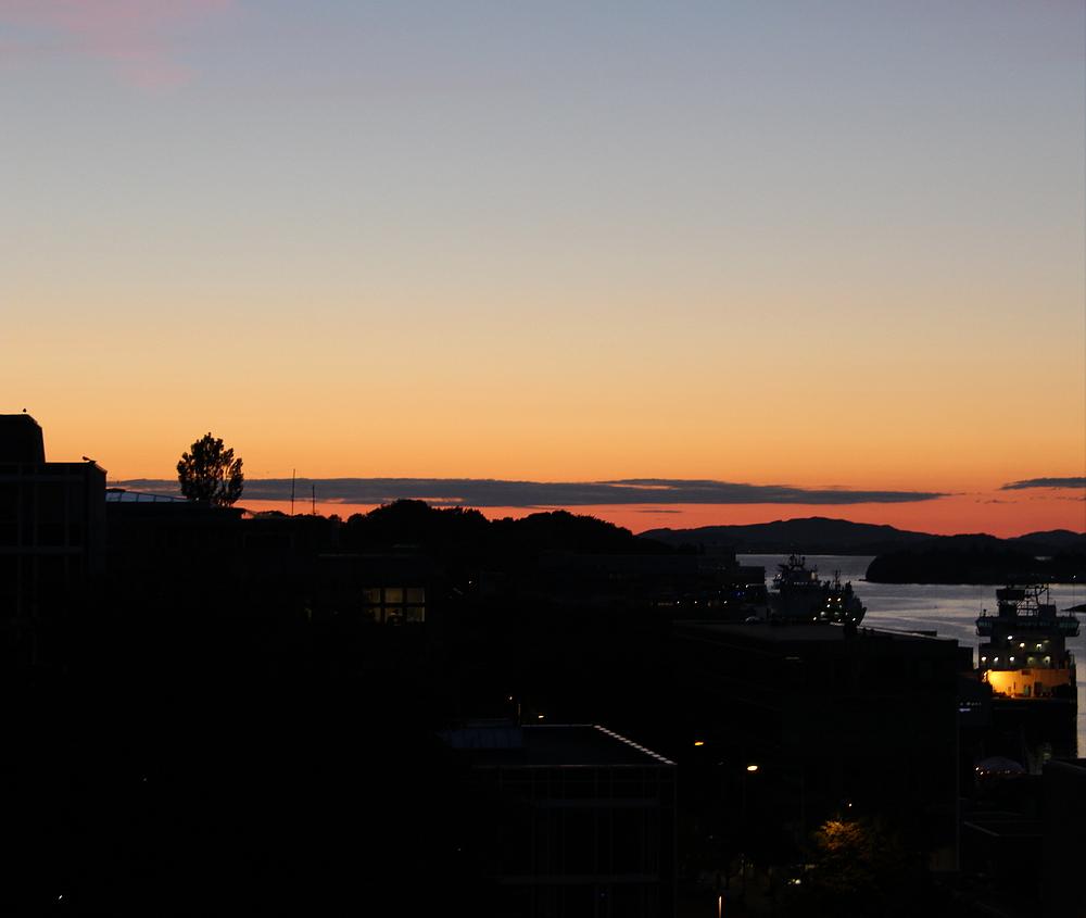 Abendstimmung in Stavanger