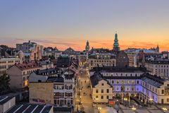 Abendstimmung in Stockholm