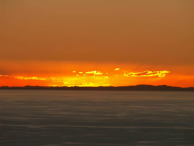 Abendstimmung Lago Titicaca