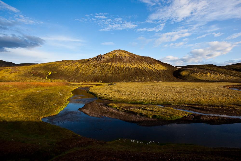 Abendstimmung nähe Alftavatn Iceland
