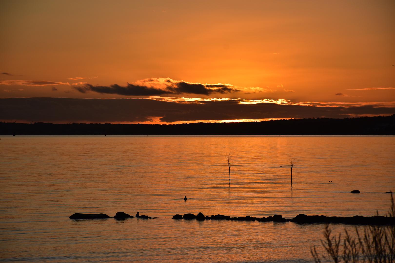 Abendstimmung Ostsee