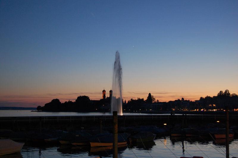 Abendstimmung Seehasenfest FN 2007
