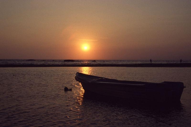 Abendstimmung, Sri Lanka