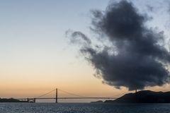 Abendstimmung über der Golden Gate Bridge