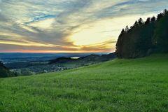 Abendstimmung Züri Oberland